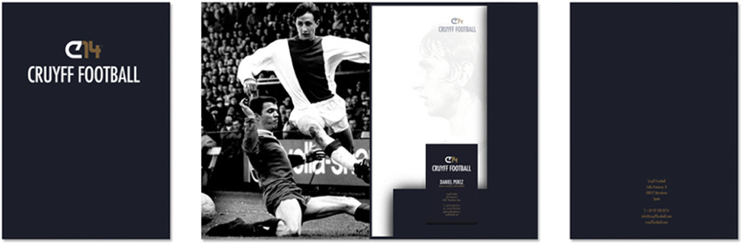 cruijff football printmateriaal