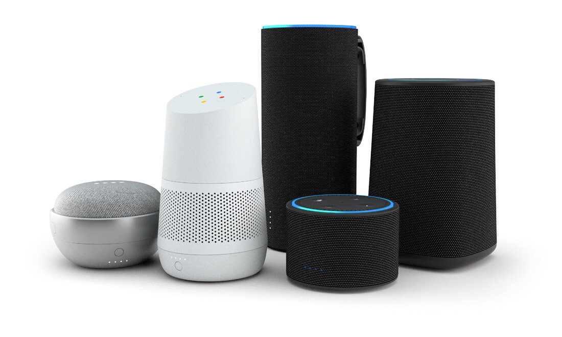 smart speakers voice