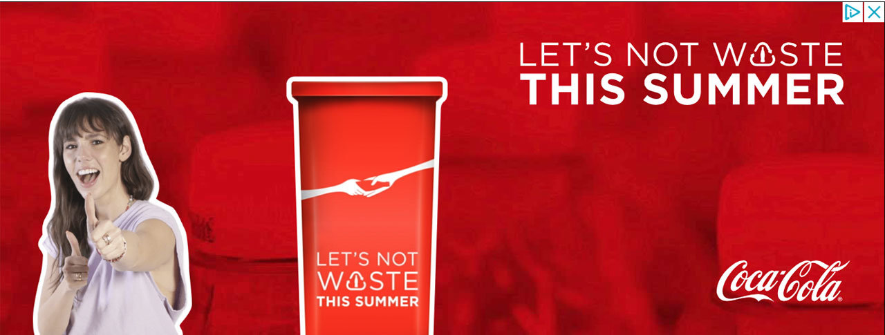 coca-cola, please help us recycle campagne is niet genoeg