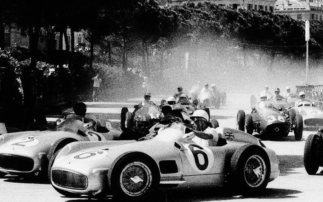 Monaco Historic Grand Prix, race historie in optima forma.