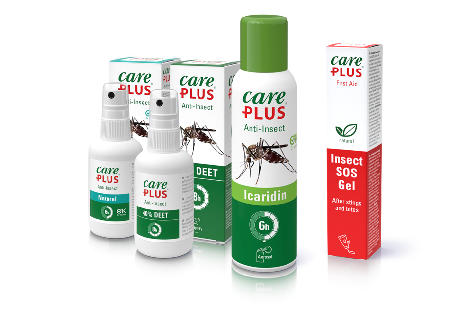 New packaging for all Care Plus products